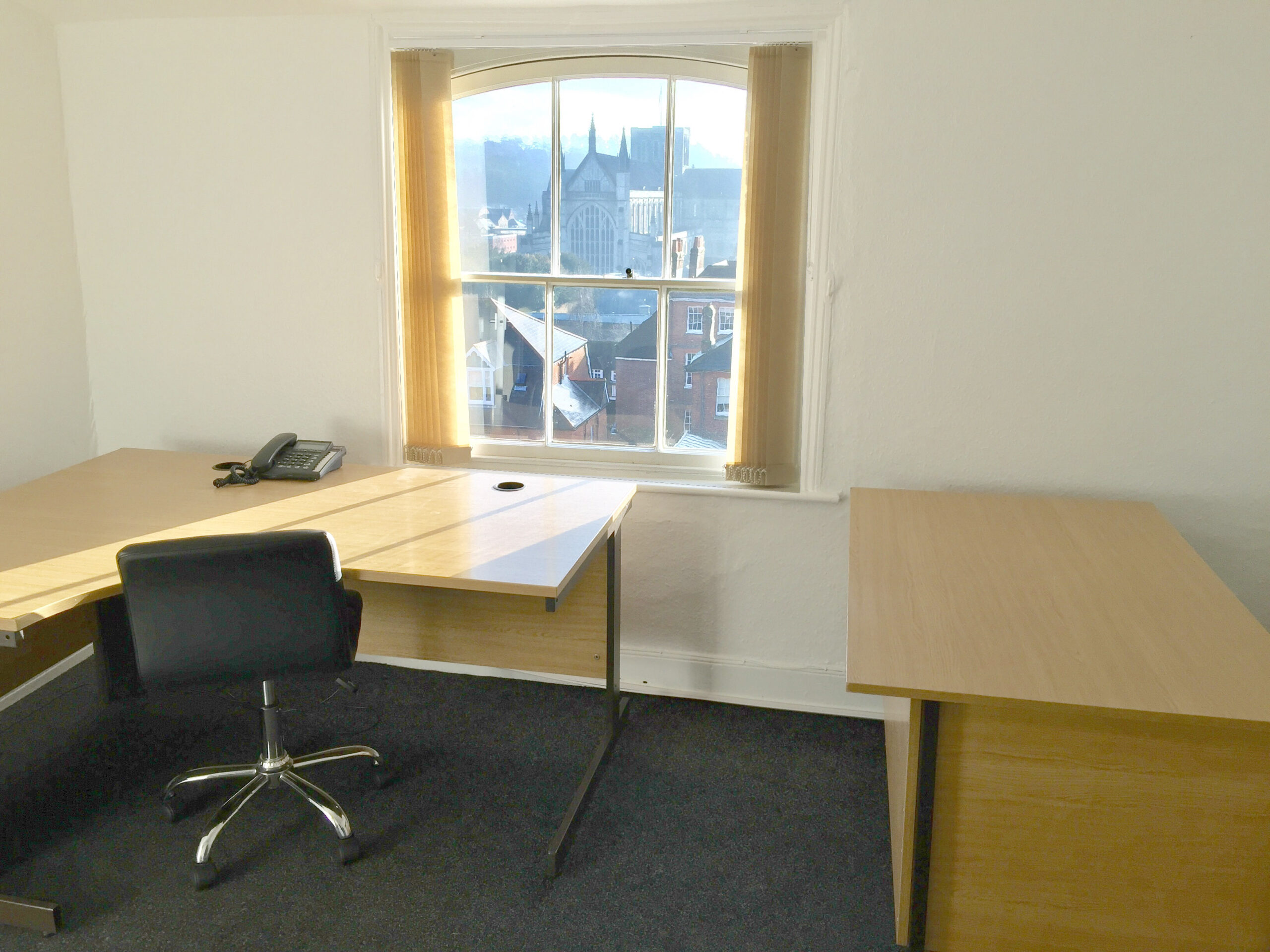 Office 7/2.6 second floor office for up to three people